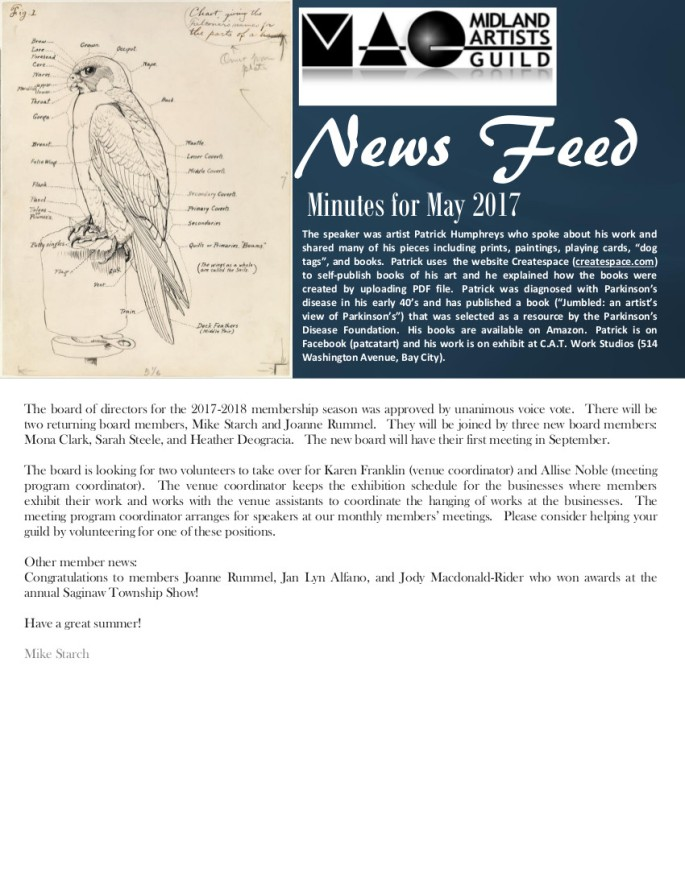 New MAG NewsFeed May 2017